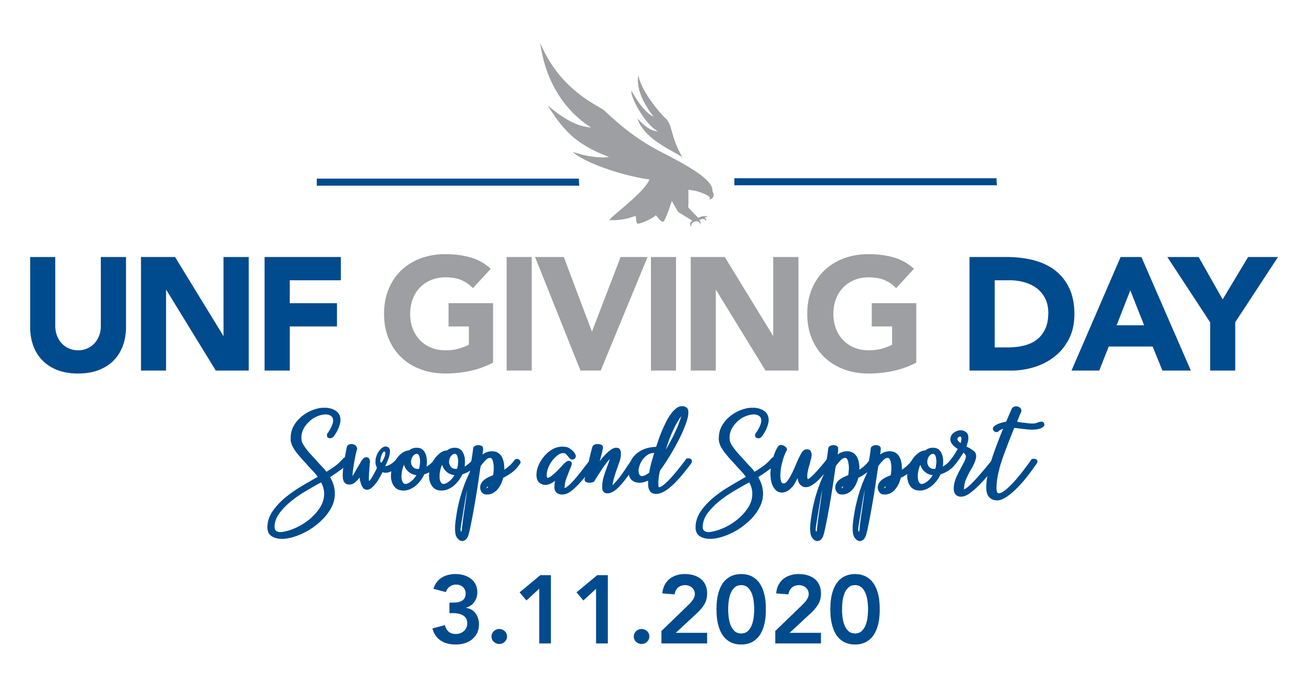 "UNF Giving Day ""swoop and support"" March 11, 2020"